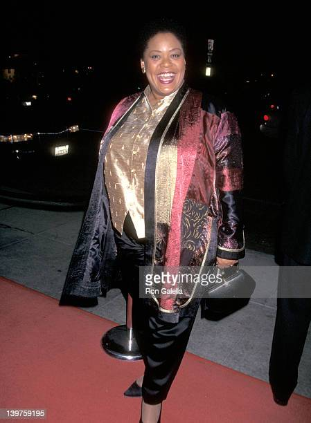 Actress Yvette Freeman attends NBC Winter TCA Press Tour on January 14 1999 at the Ritz Carlton Hotel in Pasadena California