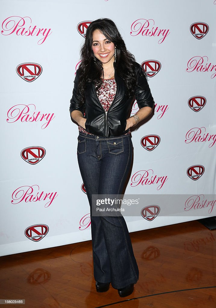 Actress Yvette Gonzalez-Nacer attends the 'Skate & Donate' charity event at the Moonlight Rollerway on December 8, 2012 in Glendale, California.