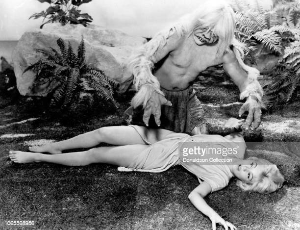 Actress Yvette Mimieux in a scene from the movie The Time Machine