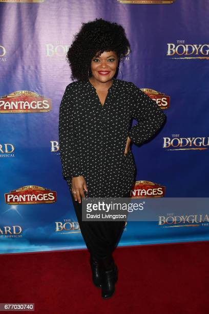 Actress Yvette Nicole Brown arrives at the premiere of 'The Bodyguard' at the Pantages Theatre on May 2 2017 in Hollywood California