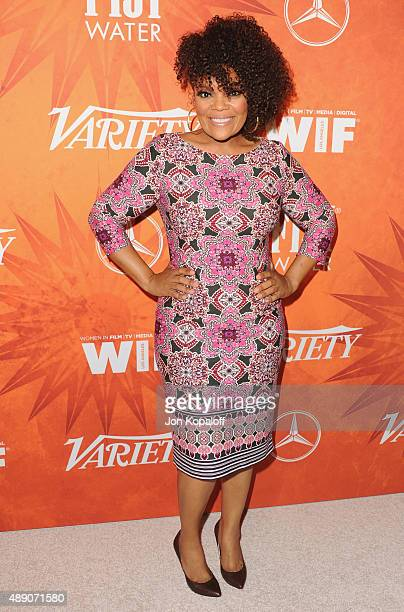Actress Yvette Nicole Brown arrives at the Variety And Women In Film Annual Pre-Emmy Celebration at Gracias Madre on September 18, 2015 in West...