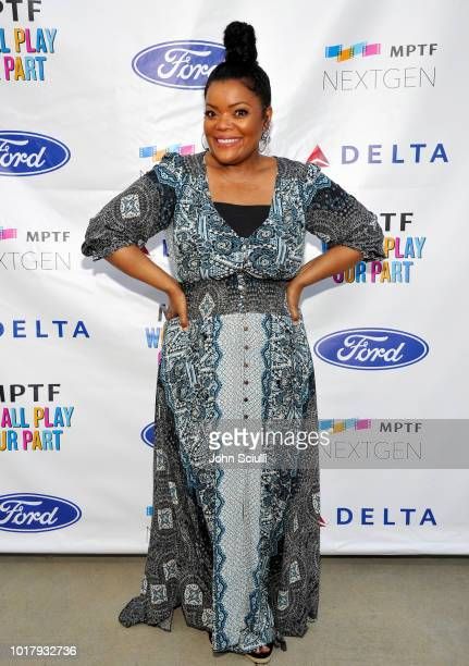 Actress Yvette Nicole Brown attends MPTF's Annual NextGen Summer Party at Paramount Pictures on August 16 2018 in Los Angeles California