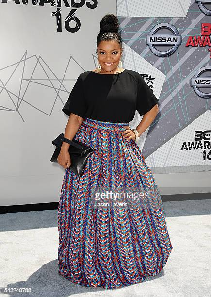 Actress Yvette Nicole Brown attends the 2016 BET Awards at Microsoft Theater on June 26, 2016 in Los Angeles, California.