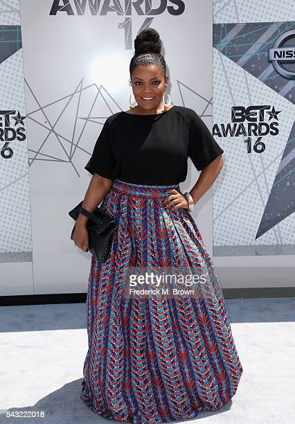 Actress Yvette Nicole Brown attends the 2016 BET Awards at the Microsoft Theater on June 26 2016 in Los Angeles California