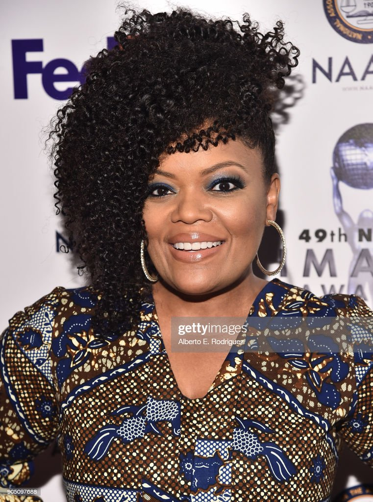 Actress Yvette Nicole Brown attends the 49th NAACP Image Awards Non-Televised Award Show at The Pasadena Civic Auditorium on January 14, 2018 in Pasadena, California.