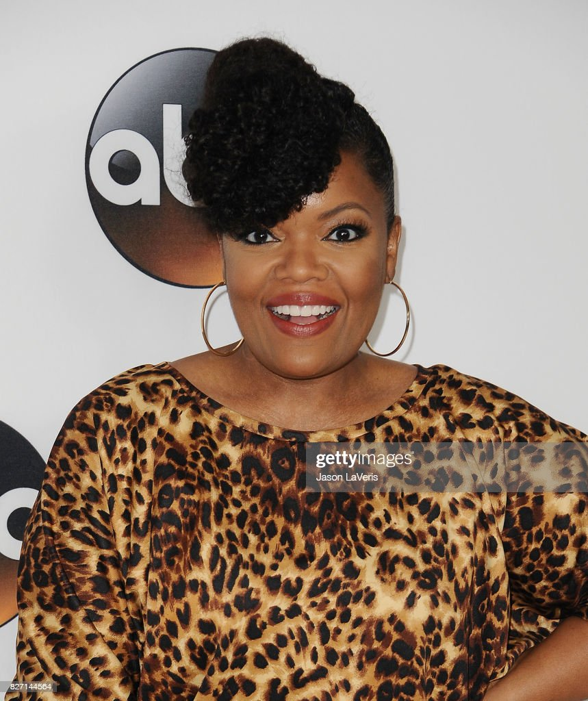 Actress Yvette Nicole Brown attends the Disney ABC Television Group TCA summer press tour at The Beverly Hilton Hotel on August 6, 2017 in Beverly Hills, California.