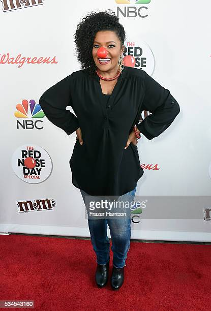 Actress Yvette Nicole Brown attends The Red Nose Day Special on NBC at Alfred Hitchcock Theater at Universal Studios on May 26 2016 in Universal City...