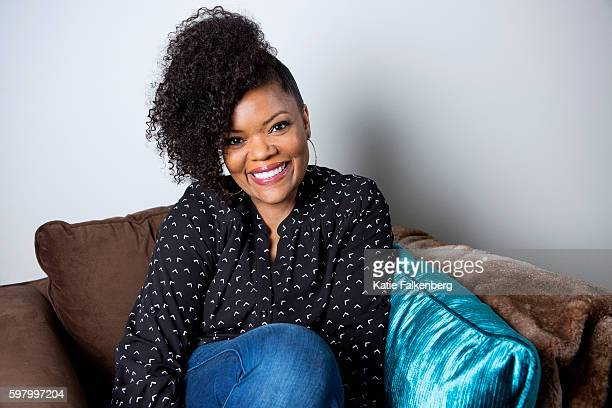 Actress Yvette Nicole Brown is photographed for Los Angeles Times on August 5 2016 in Los Angeles California PUBLISHED IMAGE CREDIT MUST READ Katie...