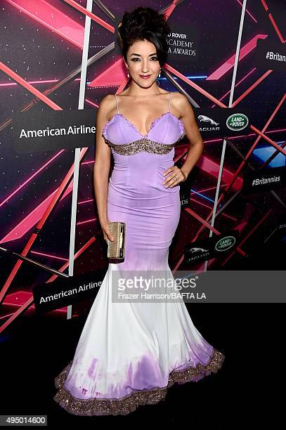 Actress Yvette Yates attends the 2015 Jaguar Land Rover British Academy Britannia Awards presented by American Airlines at The Beverly Hilton Hotel...