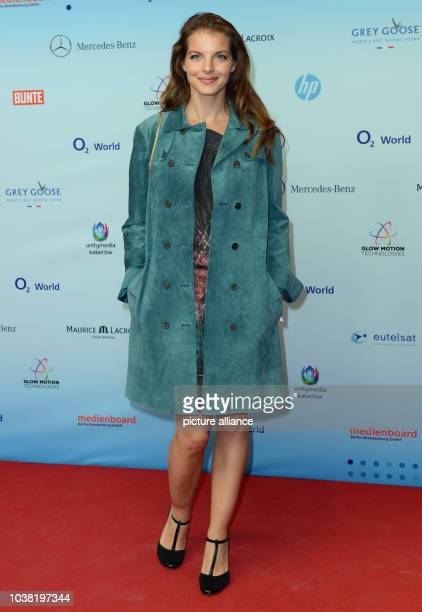 Actress Yvonne Catterfeld attends the Medianight party organised by the BerlinBrandenburg Medienboard and celebrating the fifth anniversary of...