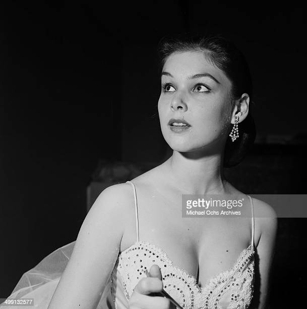 Actress Yvonne Craig attends the Deb Star Ball in Los Angeles California