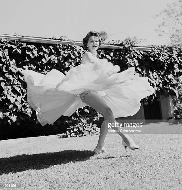 At Home De yvonne de carlo pictures and photos getty images
