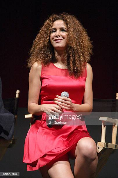 Actress Yvonne Maria Schaefer attends the 'Keep Your Enemies Closer Checkmate' screening at the School of Visual Arts Theater on October 1 2012 in...