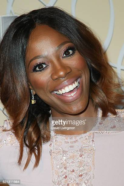 Actress Yvonne Orji arrives at HBO's Official Golden Globe Awards after party at the Circa 55 Restaurant on January 8 2017 in Los Angeles California