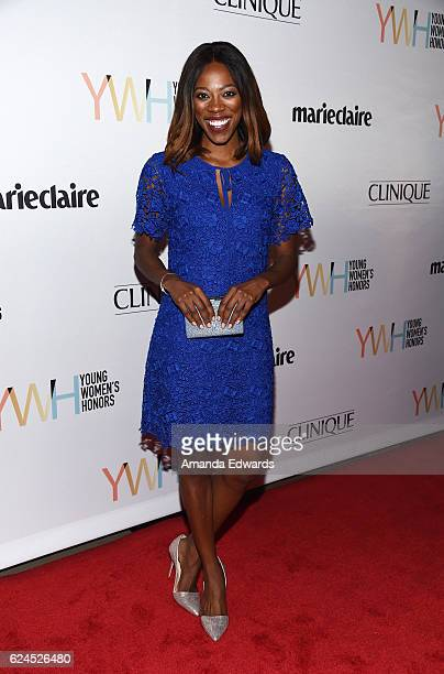 Actress Yvonne Orji arrives at the 1st Annual Marie Claire Young Women's Honors at the Marina del Rey Marriott on November 19 2016 in Marina del Rey...
