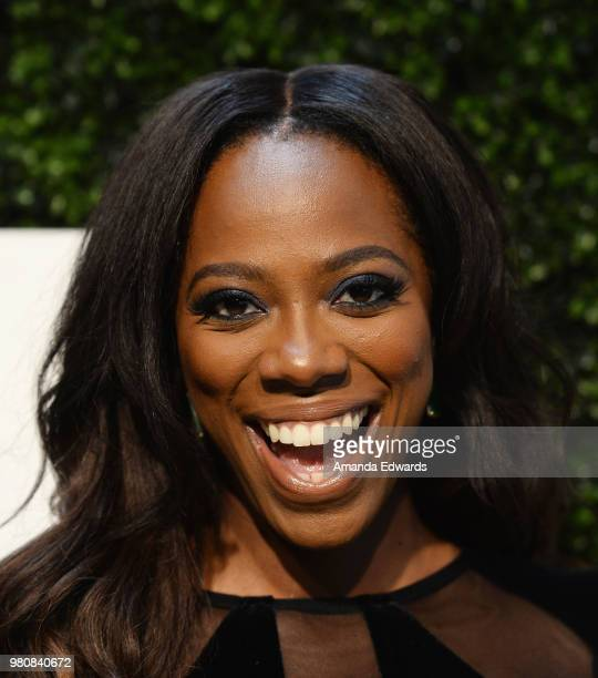 Actress Yvonne Orji arrives at the BET Her Awards Presented By Bumble at The Conga Room at LA Live on June 21 2018 in Los Angeles California