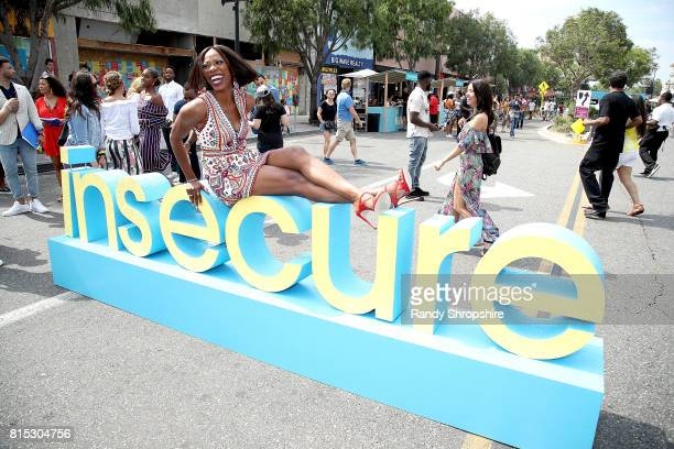 Actress Yvonne Orji attends a block party celebrating HBO's new season of Insecure on July 15 2017 in Inglewood California