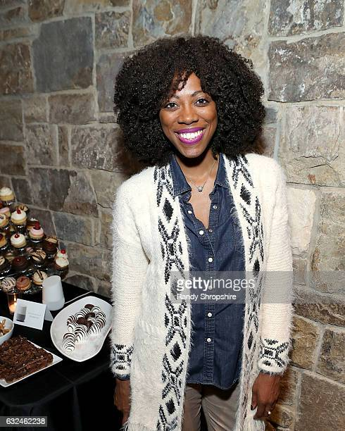 Actress Yvonne Orji attends Google Home x Sundance x Wanderluxxe celebrate diversity at the home of Barry Amy Baker on January 22 2017 in Park City...