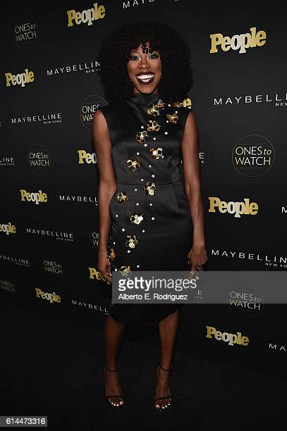 Actress Yvonne Orji attends People's 'Ones to Watch' event presented by Maybelline New York at EP LP on October 13 2016 in Hollywood California
