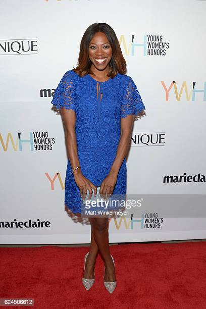 Actress Yvonne Orji attends the 1st annual Marie Claire Young Women's Honors at Marina del Rey Marriott on November 19 2016 in Marina del Rey...