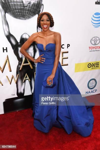 Actress Yvonne Orji attends the 48th NAACP Image Awards at Pasadena Civic Auditorium on February 11 2017 in Pasadena California
