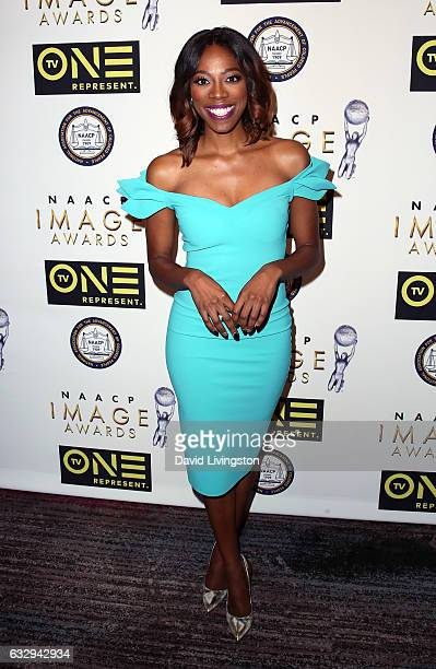Actress Yvonne Orji attends the 48th NAACP Image Awards Nominees' Luncheon at Loews Hollywood Hotel on January 28 2017 in Hollywood California