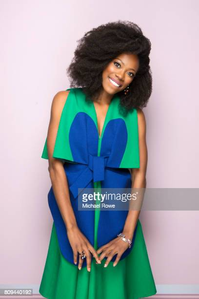Actress Yvonne Orji is photographed for Essence Magazine on February 23 2017 in Los Angeles California
