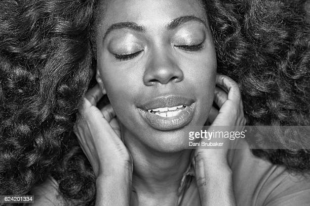 Actress Yvonne Orji is photographed for Interview Magazine on September 15 2016 in Los Angeles California