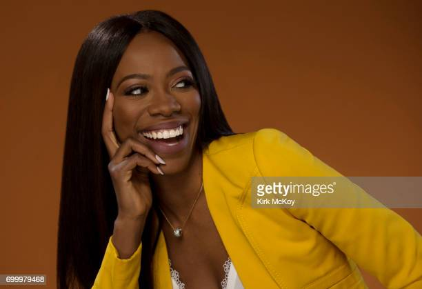 Actress Yvonne Orji is photographed for Los Angeles Times on June 14 2017 in Los Angeles California PUBLISHED IMAGE CREDIT MUST READ Kirk McKoy/Los...