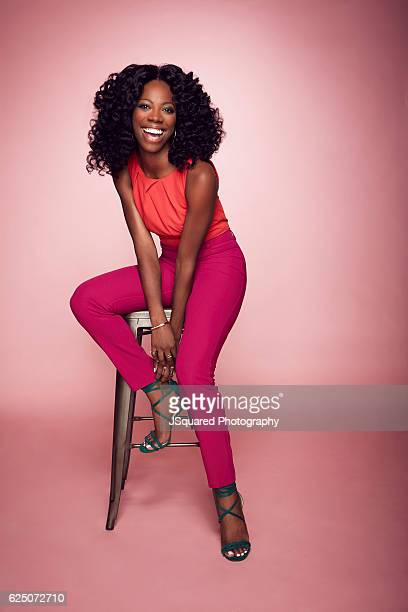 Actress Yvonne Orji is photographed for The Wrap on September 8 2016 in Los Angeles California
