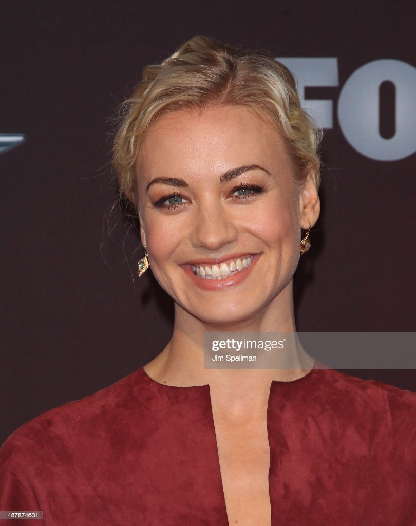 Actress Yvonne Strahovski attends '24: Live Another Day' World Premiere at Intrepid Sea on May 2, 2014 in New York City.