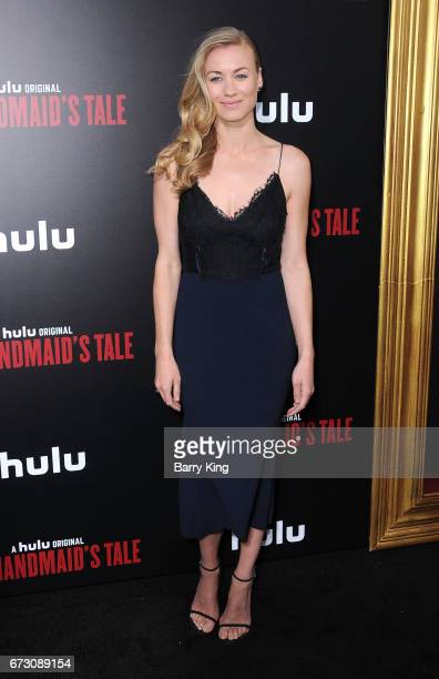 Actress Yvonne Strahovski attends premiere of Hulu's 'The Handmaid's Tale' at ArcLight Cinemas Cinerama Dome on April 25 2017 in Hollywood California