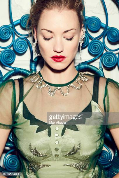 Actress Yvonne Strahovski is photographed for Fashion Magazine on January 27, 2018 in Toronto, Ontario. PUBLISHED IMAGE.