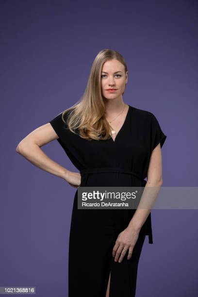 Actress Yvonne Strahovski is photographed for Los Angeles Times on June 6, 2018 in Los Angeles, California. PUBLISHED IMAGE. CREDIT MUST READ:...