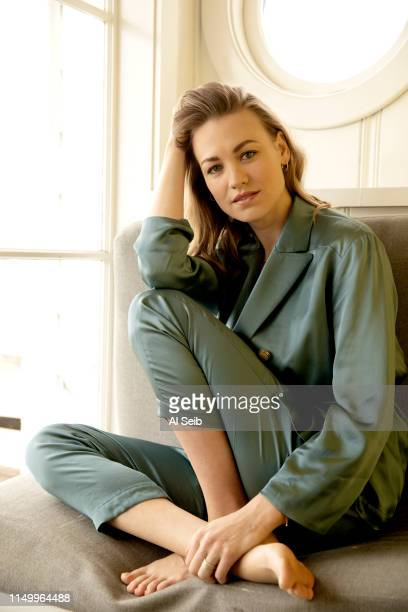 Actress Yvonne Strahovski is photographed for Los Angeles Times on May 10, 2019 in Malibu, California. PUBLISHED IMAGE. CREDIT MUST READ: Al Seib/Los...