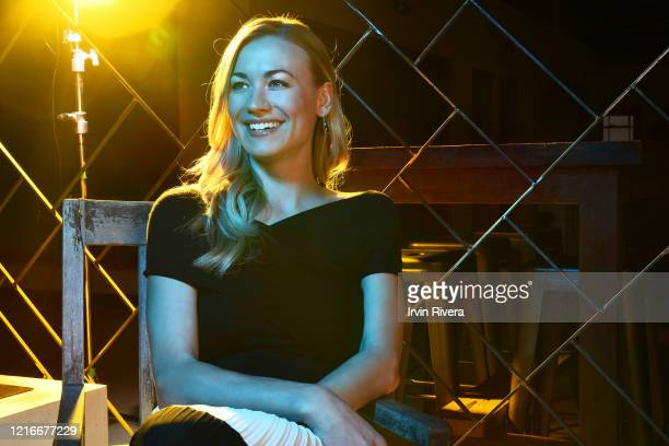 Actress Yvonne Strahovski is photographed for The Wrap on May 15, 2017 in Los Angeles, California. PUBLISHED IMAGE.