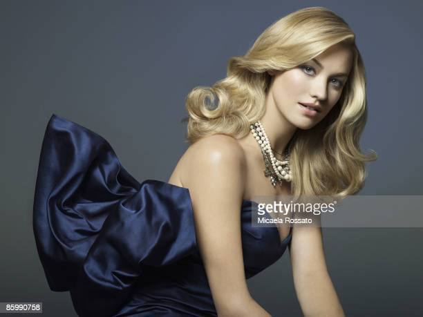 Actress Yvonne Strahovski poses at a portrait session for InStyle Magazine in New York City Published image