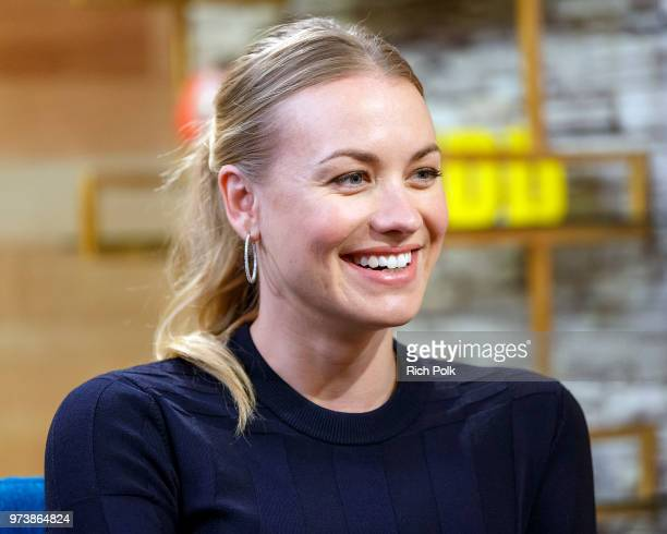 Actress Yvonne Strahovski visits 'The IMDb Show' on June 12, 2018 in Studio City, California. This episode of 'The IMDb Show' airs on June 21, 2018.