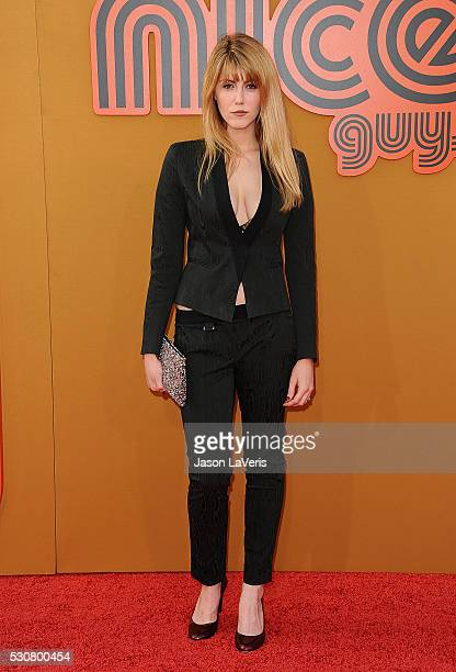 Actress Yvonne Zima attends the premiere of The Nice Guys at TCL Chinese Theatre on May 10 2016 in Hollywood California