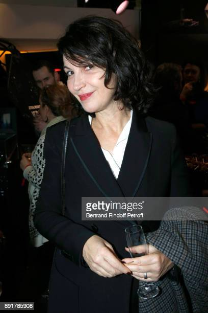 Actress Zabou Breitman attends the 'Star Wars x Renault' Party at Atelier Renault on December 13 2017 in Paris France