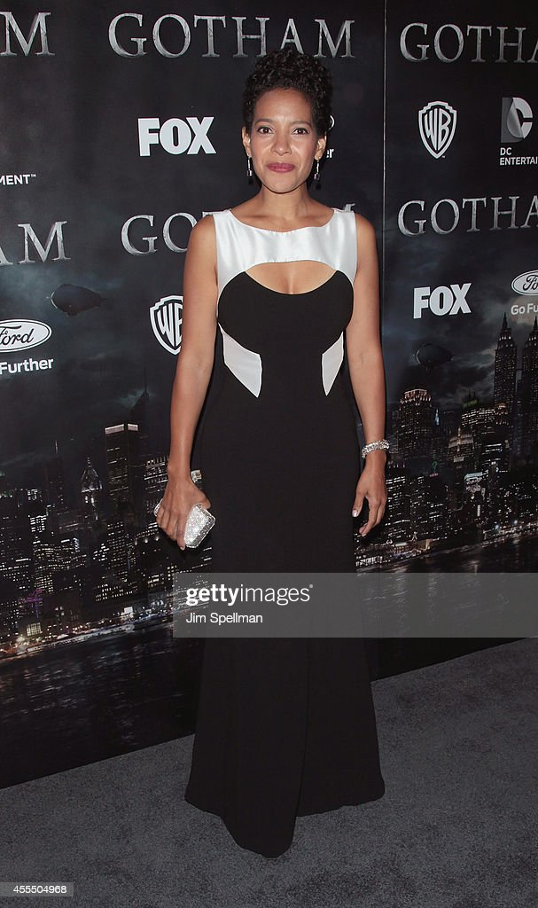 Actress Zabryna Guevara attends the 'Gotham' Series Premiere at The New York Public Library on September 15, 2014 in New York City.