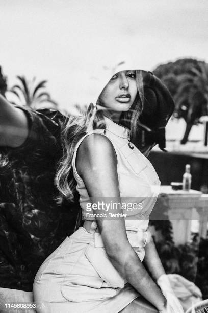 Actress Zahia Dehar poses for a portrait on May 20 2019 in Cannes France