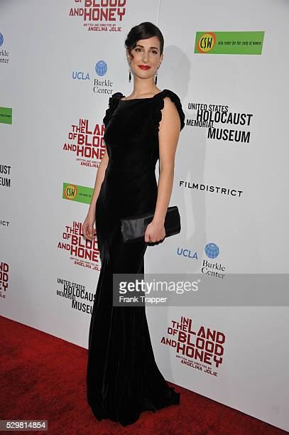 Actress Zana Marjanovic arrives at the premiere of In The Land of Blood and Honey held at The ArcLight Theater in Hollywood