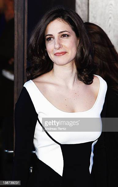 Actress Zana Marjanovic attends the In The Land Of Blood And Honey Photocall during day three of the 62nd Berlin International Film Festival at the...