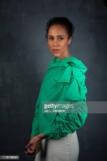 Actress Zawe Ashton from 'Velvet Buzzsaw' is photographed for Los Angeles Times on January 27 2019 at the 2019 Sundance Film Festival in Salt Lake...
