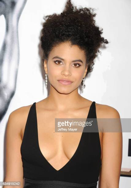 Actress Zazie Beetz arrives at the 48th NAACP Image Awards at Pasadena Civic Auditorium on February 11 2017 in Pasadena California