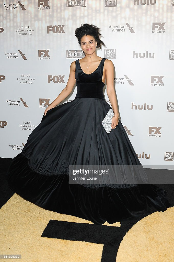 Actress Zazie Beetz attends FOX and FX's 2017 Golden Globe Awards after party at The Beverly Hilton Hotel on January 8, 2017 in Beverly Hills, California.