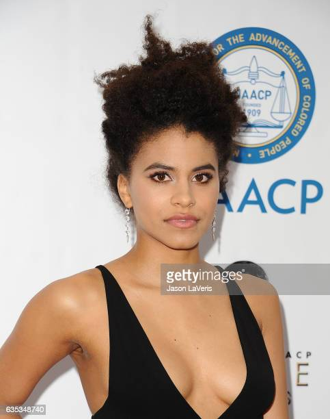 Actress Zazie Beetz attends the 48th NAACP Image Awards at Pasadena Civic Auditorium on February 11 2017 in Pasadena California