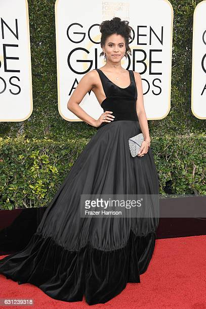 Actress Zazie Beetz attends the 74th Annual Golden Globe Awards at The Beverly Hilton Hotel on January 8 2017 in Beverly Hills California