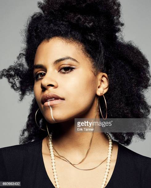 Actress Zazie Beetz is photographed at the 76th Annual Peabody Awards at Cipriani Wall Street on May 20 2017 in New York City